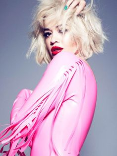 Music and Fashion Intermixture: Rita Ora Works with Rimmel London on Cosmetics Line