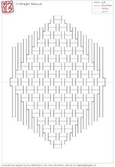 Plantilla de bricolaje escultura de papel pop-up por Ullagami