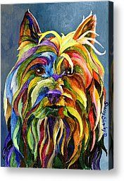 Silky Terrier Painting by Sherry Shipley - Silky Terrier Fine Art Prints and Posters for Sale