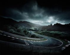"""Green Hell"" - the Nordschleife, Nurburgring"
