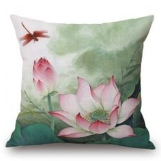 SHARE & Get it FREE   Traditional Red Lotus Painting Pattern Square Shape PillowcaseFor Fashion Lovers only:80,000+ Items • New Arrivals Daily • Affordable Casual to Chic for Every Occasion Join Sammydress: Get YOUR $50 NOW!