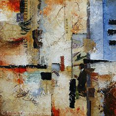 Time Flies by Mark Yearwood Mixed Media ~ 12'' x 12''