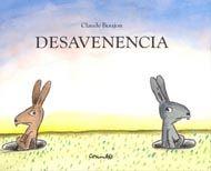 Este pequeño álbum ilustrado cuenta la historia de dos conejos que se llevan como el perro y el gato, hasta que en un momento dado ambos deben enfrentarse unidos a la adversidad para lograr escapar de las garras de un zorro hambriento.
