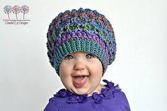 Ravelry: Honeycomb Ridges Slouch pattern by Crochet by Jennifer