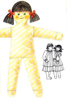 Très facile à coudre, cette poupée de chiffon fera le bonheur de votre petite fille : Le château-fort