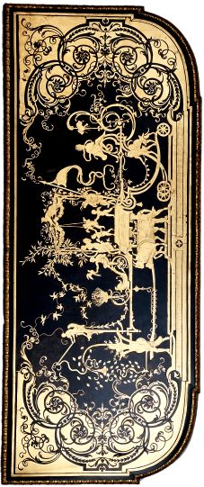 Boulle Marquetry - Side table attributed to André-Charles Boulle, c.1715. Copyright The Trustees of The Wallace Collection.