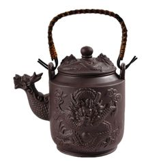 Chinese Style Dragon Teapot //Price: $35.99 & FREE Shipping //     #GreanTea #Green #Tealife #Teabusiness #TeaLover #ChineseCulture #Unwind #Tea #ChinaTea #GreanTea #Teagarden #TeaSmarter