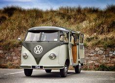 VW van. Slow the pace. Takin her easy.