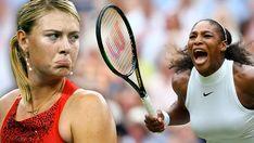 Maria Sharapova, Serena Williams, Trending Videos, Funny Moments, Memoirs, Youtube, Professional Tennis Players, Pos, Tennis Racket