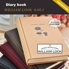 Min.order is $25 (mix order) Stationery girl Hardcover diary notepad Memo Paper notebook book promotion gift william MMA06051 on AliExpress.com. $5.64