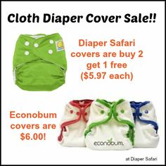 These are amazing prices on one-size diaper covers!! #clothdiapers