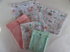 Clearance Clear Front Ouch Pouch 5x7 Girl First Aid Mask Hand Sanitizer Holder Toddler Girl Diaper Bag Organizer School Supplies Party Favor