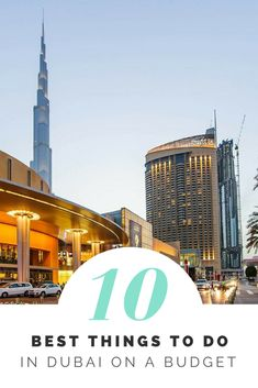 Best things to do in Dubai on a budget