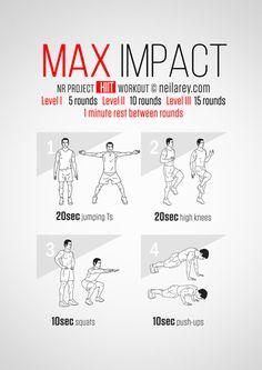 Max Impact Workout