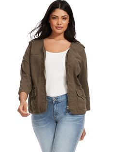 Flap Pocket Jacket W