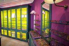 A inside view of our bd Raspail boutique