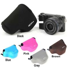 Camera Cases Bag for Samsung NX3000 NX2000 NX1000 Neoprene Soft Protective Inner Pouch Camera Accessories Original NEOPINE
