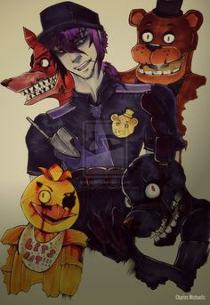 Five Nights at Freddy's by StrikingHyena on DeviantArt