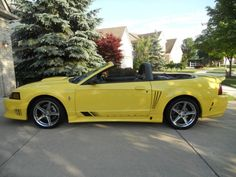2001 Ford Mustang Saleen S281 - Cabriolet - Portland - Michigan - announcement-73373search