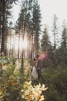 Outdoor Wedding | #woodland #wedding #inspiration