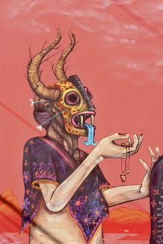 Artists: Saner + Sego in Miami #toobuku // www.thebukuproject.com
