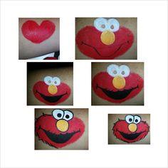 Elmo step by step