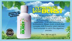 #Nutraburst is a #liquid #multivitamin equal to 10 #salads Are you looking for a #effective #natural #vitamin Order at: www.extraordinaryconversion.co  #healthandwellness #organic #fitlife #behealthy #healthylifestyle #healthyliving