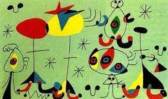 Znalezione obrazy dla zapytania joan miro paintings
