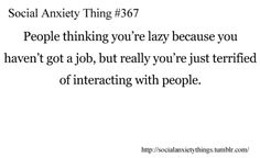 Social Anxiety Things | We Heart It
