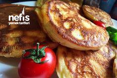 Puf Puf Peynirli Kaşık Dökmesi Tarifi nasıl yapılır? 2.560 kişinin defterindeki bu tarifin resimli anlatımı ve deneyenlerin fotoğrafları burada. Yazar: Tuğçe'nin Renkli Mutfağı⭐️ Turkish Recipes, Ethnic Recipes, Bagel, Baked Potato, Ham, Waffles, Breakfast Recipes, Sausage, French Toast