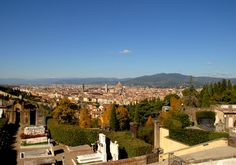 Firenze, Italia  View of Florence from San Miniato