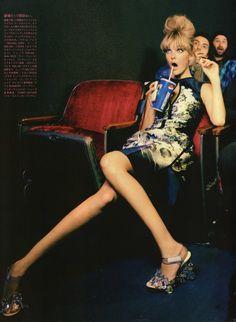 Call it Love | Ellen von Unwerth #photography | Vogue Nippon June 2010