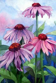 Marni Maree WATERCOLOR #watercolorarts