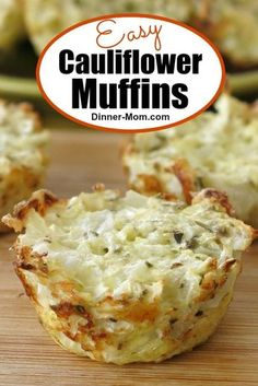 Muffins Easy Cauliflower muffins have just 5 ingredients and are quick to make! Enjoy them for a low-carb breakfast or snack.Easy Cauliflower muffins have just 5 ingredients and are quick to make! Enjoy them for a low-carb breakfast or snack. Veggie Recipes, Low Carb Recipes, Diet Recipes, Cooking Recipes, Healthy Recipes, Cabbage Recipes, Soup Recipes, Vegetarian Recipes, Recipies