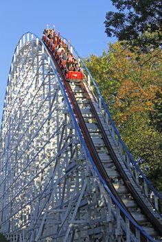 Screamin' Eagle #coaster #vintage #classic at @sixflags St Louis