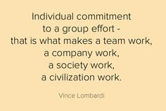 quote by Green Bay Packers Coach ~Vince Lombardi