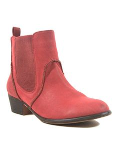 Loving this Red Dexter Ankle Boot on #zulily! #zulilyfinds