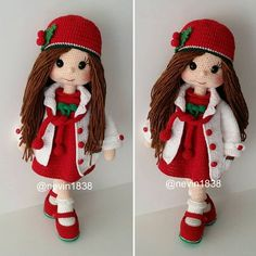Lovely Amigurumi Crochet Patterns for This Season Part amigurumi patterns free; amigurumi to go; Crochet Dolls Free Patterns, Crochet Doll Pattern, Doll Patterns, Amigurumi Patterns, Crochet Disney, Crochet Baby, Knit Crochet, Knitted Dolls, Amigurumi Doll