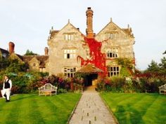 Behold 16th century Gravetye Manor, a magical place to stay if you ever need a respite from Central London! :)