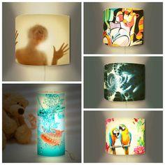 The Picture Garden: Austrian Etsy - Art On Lamps Unique Lamps, Create, Garden, Color, Etsy, Design, Art, Art Background, Garten
