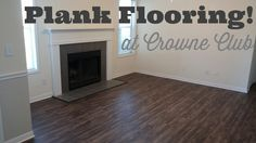 We offer plank wood flooring in our ground floor apartments! Come see it for yourself!