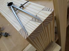 Rob Cosman showed me how to lay out dovetails using dividers about 12 or 13 years ago, and I have never looked back. I've caught a lot of crap for using the divider method from fellow hand-tool woodworkers who say that laying them out by eye is much faster. I don't disagree. However, there are some advantages to taking the extra time and use dividers. 1. My work looks more …