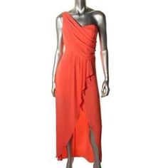 BCBG Kail High Low One Shoulder Dress Gorgeous dress! size 2 and worn only once then dry cleaned. The dress looks amazing on anyone. Retail $238! BCBG Dresses High Low