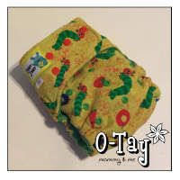 Hungry Little Caterpillar!!  Love this print!  Ai2 cloth diaper.  Very well made.