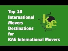 Top 10 International Movers Destinations for KAE International Movers International Movers, United Kingdom, Transportation, Destinations, Germany, France, Memes, Top, Meme