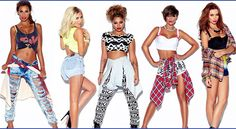 The Saturdays- Rochelle, Mollie, Vanessa, Frankie & Una Frankie Sanford, Friendship Photoshoot, Saturday Pictures, Rochelle Humes, Mollie King, Guys And Dolls, Spice Girls, Girl Bands, Cute Fashion