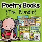 Poetry Books {The Bundle} - Nursery Rhymes, Alphabet, Numb