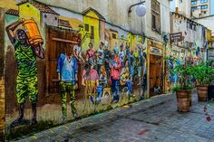 Cyprus is a small Mediterranean island with a heaven-like climate. It is full of historical and natural attractions, located in the northeastern. Grafitti Street, Graffiti, Street Art, Antalya, Santorini, Granada, Europa Im Winter, Washington Dc, Online Real Estate
