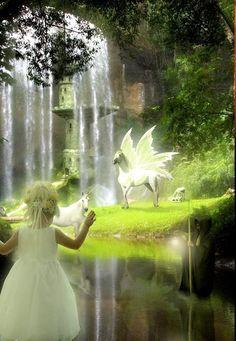 Pegasus ~ magical encounter