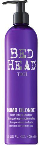 Pin for Later: Blondes Will Certainly Have More Fun After Using These Products TIGI Bed Head Dumb Blonde Toning Protection Spray TIGI Bed Head Dumb Blonde Toning Protection Spray (£15)